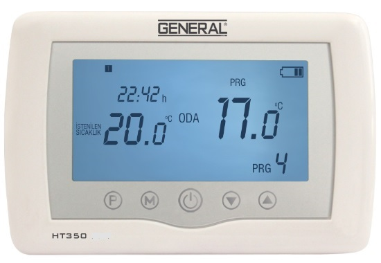 GENERAL HT 350 ODA TERMOSTATI