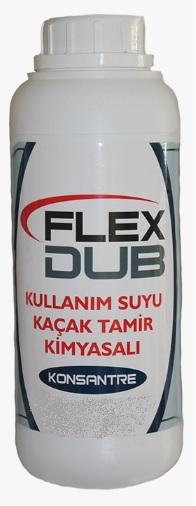 FLEX DUB ( KULLANIM SUYU İÇİN TESİSAT KAÇAK ) KİMYASALI