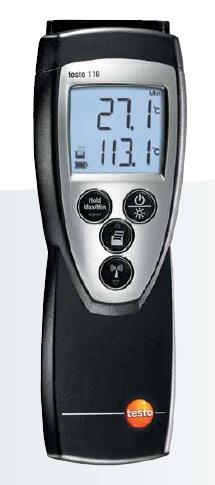 testo 110  Sıcaklık ölçüm cihazı (tek kanallı)