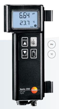 testo 230  pH_Sıcaklık ölçüm cihazı