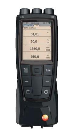 testo 480 İklimlendirme ölçüm cihazı