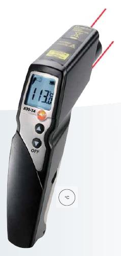 testo 830 İnfrared sıcaklık ölçüm cihazı