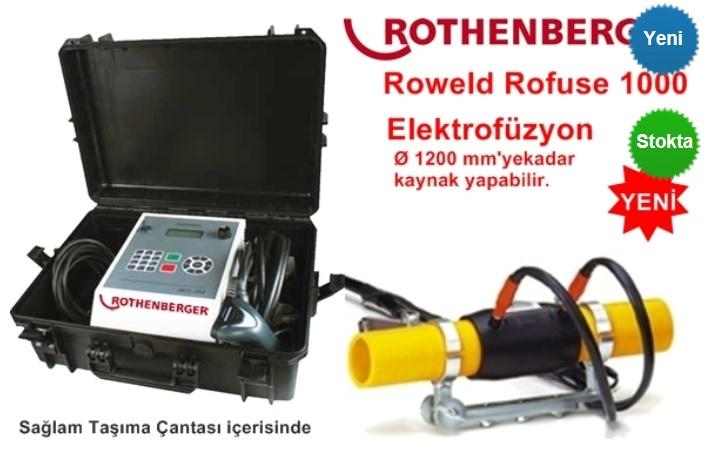 ROWELD ROFUSE C ELEKTROFÜZYON KAYNAK MAKİNASI