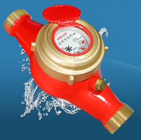 BAYLAN TK-5S ÇOK HÜZMELİ KURU TİP (Sıcak Su) SU SAYACI