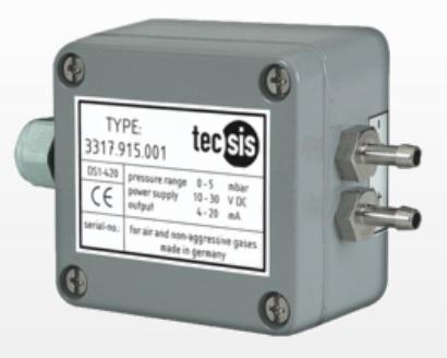 tecsis 3317 Düşük basınç ve fark basınç transmitteri