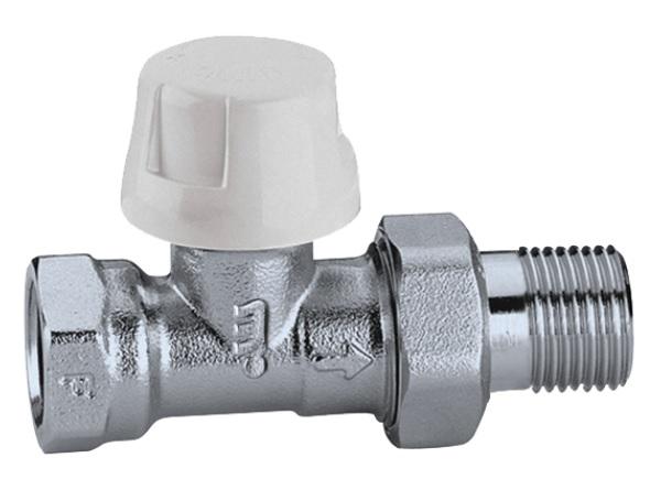 CALEFFI  221  1_2 köşe termostatik Rad Vanası