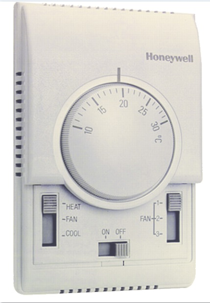 HONEYWELL T6373B1064  3 Hızlı fan ve vana 2 Borulu fan-coil