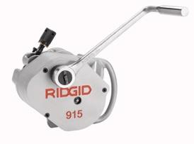 RIDGID MODEL 915 YİV AÇMA EKİPMANLARI